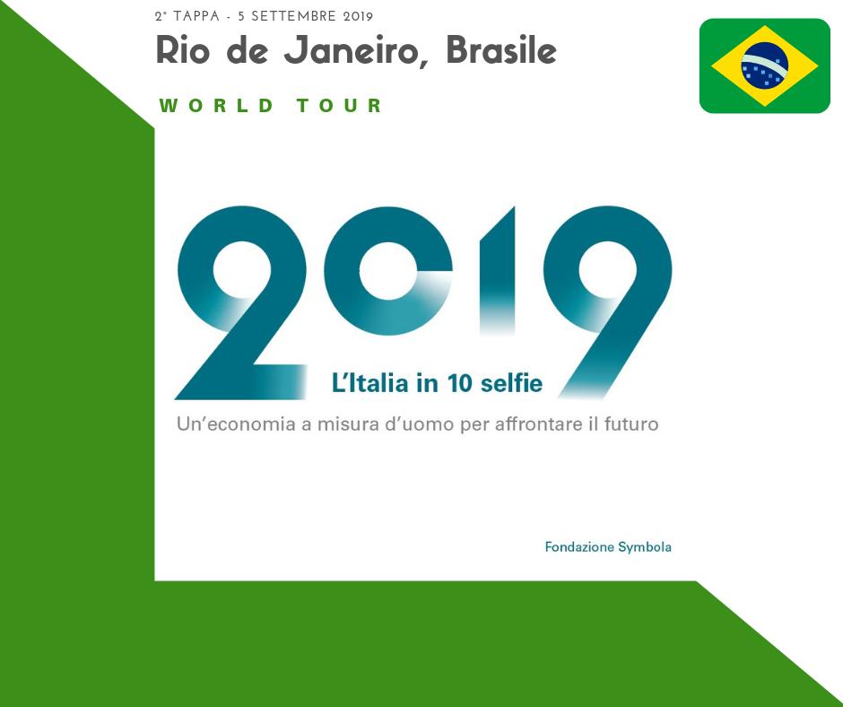 Presentazione L'Italia in 10 selfie a Rio de Janeiro