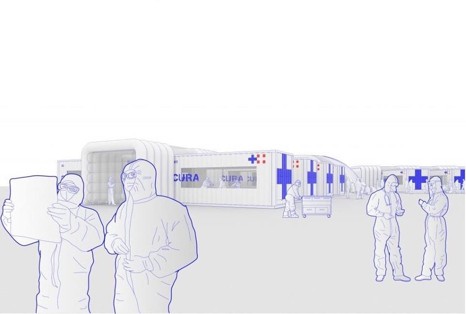 L'unione fa la forza: nasce il progetto CURA, il container di terapia intensiva