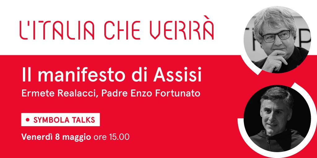 """VIDEO – Il Manifesto di Assisi – """"L'Italia che verrà"""" con Padre Enzo Fortunato"""