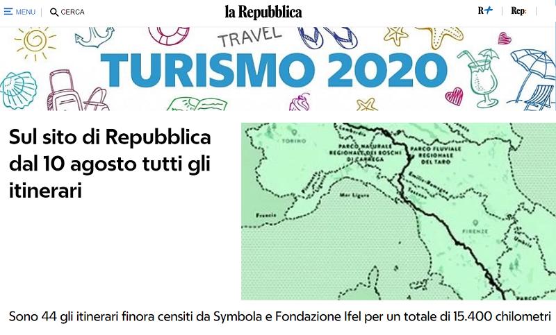 Piccoli Comuni e Cammini d'Italia: al via la collaborazione editoriale con il quotidiano La Repubblica