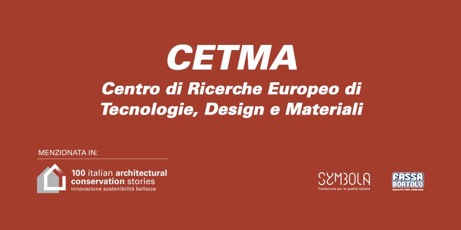 CETMA – Centro di Ricerche Europeo di Tecnologie, Design e Materiali
