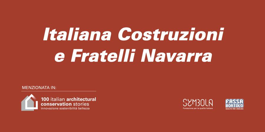 Italiana Costruzioni e Fratelli Navarra