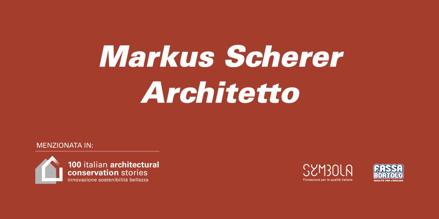 Markus Scherer Architetto