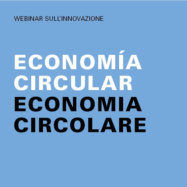 webinar su economia circolare/webinar sobre el tema de la economía circular