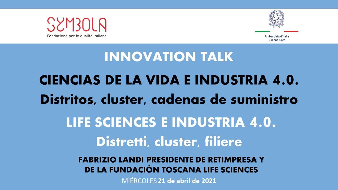 Slide FABRIZIO LANDI PRESIDENTE DE RETIMPRESA Y DE LA FUNDACIÓN TOSCANA LIFE SCIENCES