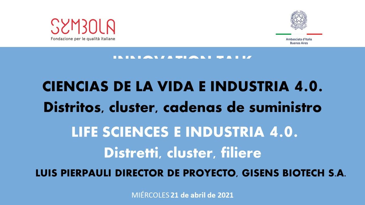 Slide LUIS PIERPAULI DIRECTOR DE PROYECTO, GISENS BIOTECH S.A.