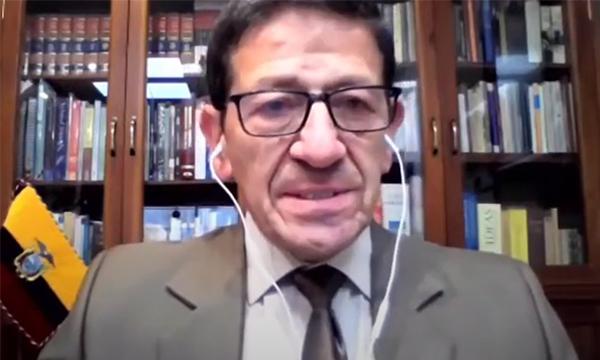 HERNÁNDO MERCHÁN MANZANO, Viceministro dell'Elettricità ed Energia Rinnovabile Ecuador