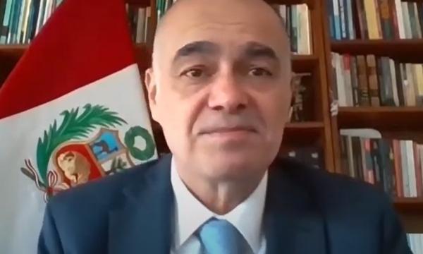 GABRIEL QUIJANDRÍA, Ministro dell'Ambiente del Perù