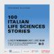 "Presentazione ""100 ITALIAN LIFE SCIENCES STORIES"""